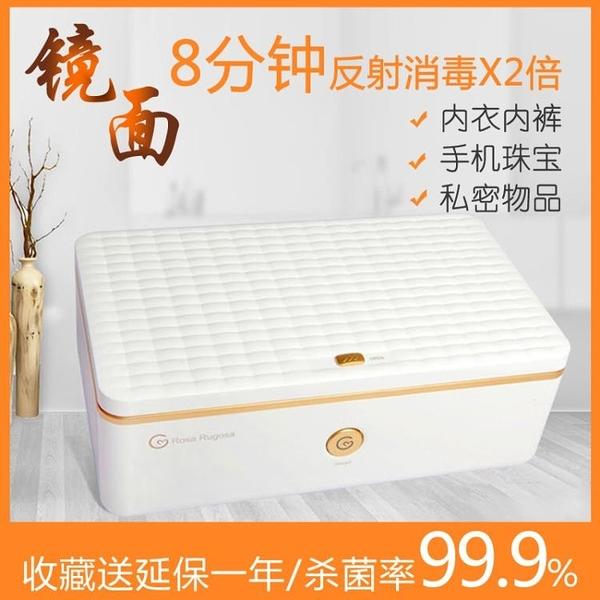 紫外線臭氧99%雙重殺菌便攜式消毒機美甲美睫美容紋繡工具消毒盒 新年禮物igo