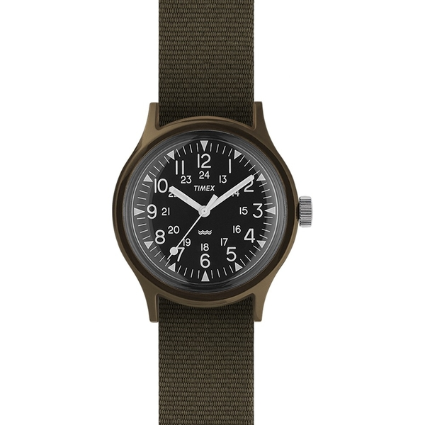 【TIMEX】天美時 MK1系列 輕量潮流軍錶(軍綠 TXTW2P88400)