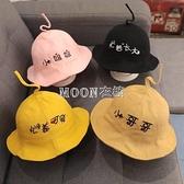 寶寶帽子春季兒童盆帽小姐姐哥哥1-3歲2薄款男童女童遮陽漁夫帽 快速出貨