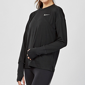 Nike Element Dri-Fit 女子 黑色 透氣 排汗 慢跑 訓練 長袖 上衣 928742-010