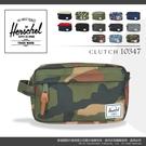 《熊熊先生》Herschel 經典造型 7折優惠 防潑水 隨身包 大容量素色收納包 萬用手拿包 手提包 10347