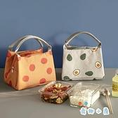 飯盒手提包保溫袋鋁箔便當包帶飯包便當袋子手拎飯盒包【奇趣小屋】