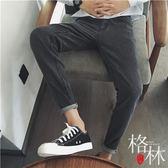 風~原創春季新款青年寬鬆牛仔褲百搭男士長褲子