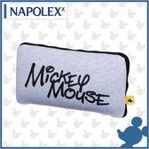 【愛車族購物網】日本 NAPOLEX Disney 米奇2用靠墊被毯 (1入)