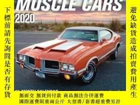 二手書博民逛書店American罕見Muscle Cars 2020: 16-M