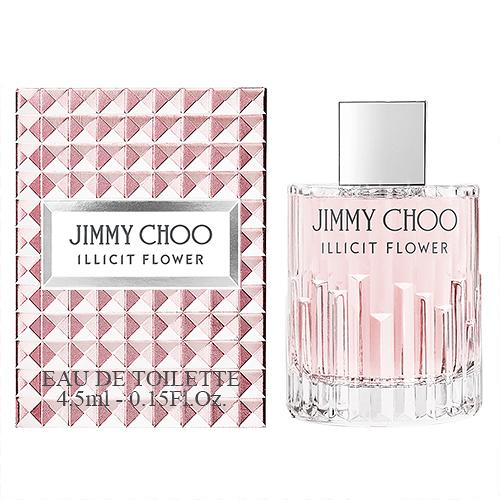 【Jimmy Choo】ILLICIT FLOWER 慾望城市 女性淡香水 4.5ml (原廠沾式)