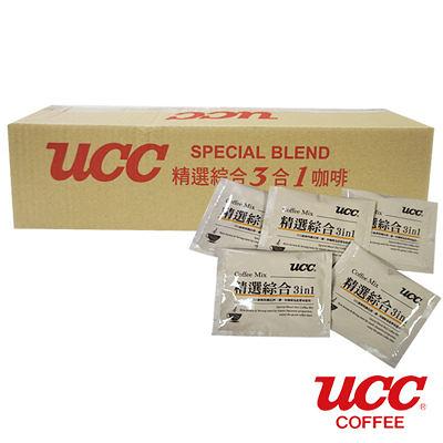 金時代書香咖啡【UCC】日本飯店用精選綜合三合一隨身包 16g*100入 00268