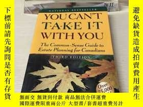 二手書博民逛書店You罕見can't take it with youY407156