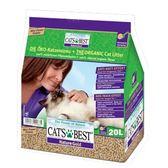 【寵物王國】德國凱優CATS BEST-優質凝結木屑砂20L,長毛貓專用