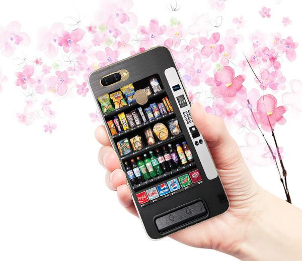 [AX5s 軟殼] OPPO A7 cph1920 手機殼 外殼 自動販賣機