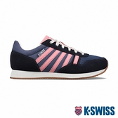 K-SWISS Granada復古運動鞋-女-藍/粉紅