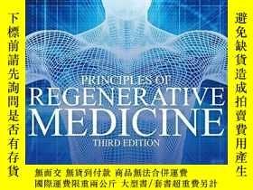 二手書博民逛書店Principles罕見Of Regenerative Medicine 3rdY255562 Anthony
