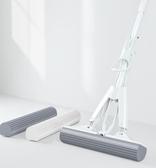 吸水海綿拖把家用免手洗懶人膠棉頭對折式擠水拖地神器拖地桶拖布YYP 蜜拉貝爾
