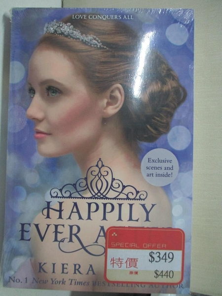 【書寶二手書T1/原文小說_GLT】Happily Ever After (The Selection Series)_Kiera Cass