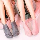 低幫雨鞋女防滑韓國時尚平底可愛水鞋成人 YF100【棉花糖伊人】