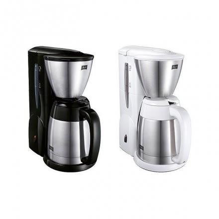 美利塔Melitta 不鏽鋼真空雙層結構 美式咖啡機MKM-531 美式壺 黑色/白色 附量匙 濾紙