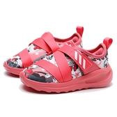 ADIDAS FORTARUN X MINNIE I 粉紅 聯名 魔鬼氈 米妮 迪士尼 童鞋 小童(布魯克林) FV4260