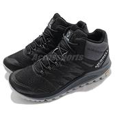 Merrell 戶外鞋 Nova 2 Mid GTX 黑 灰 男鞋 登山鞋 防水 中筒【ACS】 ML066647