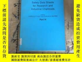 二手書博民逛書店Compendium罕見of Safety Data Sheet