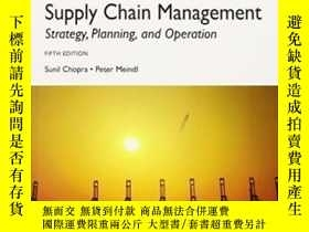 二手書博民逛書店Supply罕見Chain Management: Strategy Planning And Operation