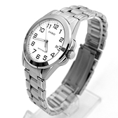 CASIO手錶 經典款數字日期窗鋼錶NECE45