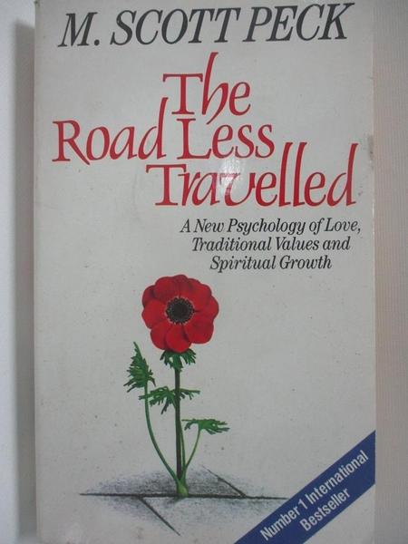 【書寶二手書T1/原文小說_AUC】The Road Less Travelled (Arrow New-Age)_M. Scott Peck