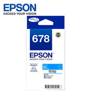 EPSON 原廠藍色墨水匣 T678250 (適用WP-4531,WP-4091)