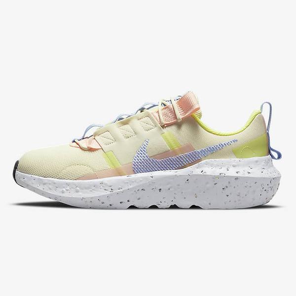 Nike Crater Impact 女鞋 休閒 輕量 避震 透氣 環保理念 黃粉藍【運動世界】CW2386-700