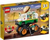 【LEGO樂高】CREATOR 怪獸漢堡卡車 #31104