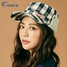 【爆殺↘45折】ADISI 格紋速乾保暖折眉護耳頸軍帽 AS18065(M-L) / 城市綠洲 (帽子、軍帽、保暖帽)
