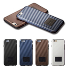 【默肯國際】more iPhone6 Twin 仿碳纖維彈性保護殼 iPhone6 4.7 (現貨:銅金、白色)
