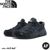 【The North Face 男DryVent防水健行鞋《黑灰》】46CJ/健行鞋/越野鞋/防水鞋/跑步/路跑