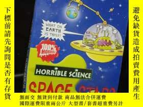 二手書博民逛書店space罕見stars and slimy aliens .Y