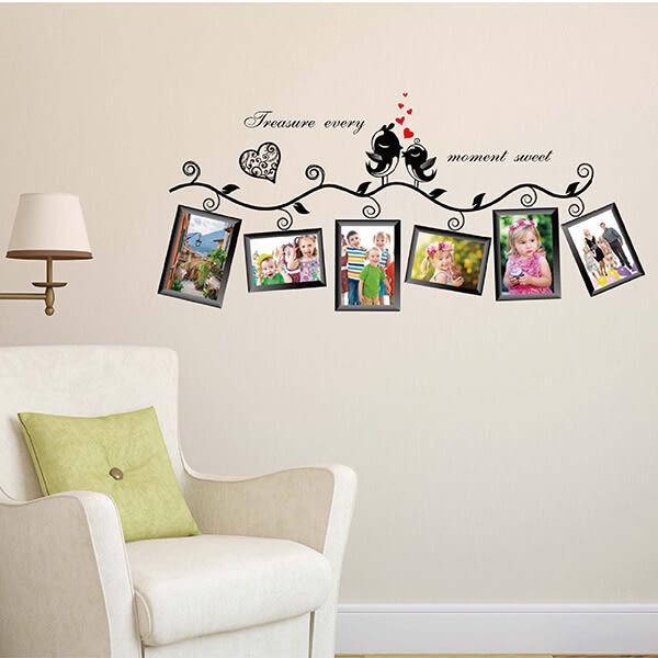 【DIY創意壁貼】DIY創意壁貼(幸福青鳥)|牆貼 壁貼紙 創意壁貼 相框貼