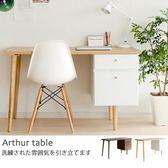 開學季 書桌 電腦桌 辦公桌 抽屜【X0008】亞瑟雙抽電腦桌  MIT台灣製ac 完美主義