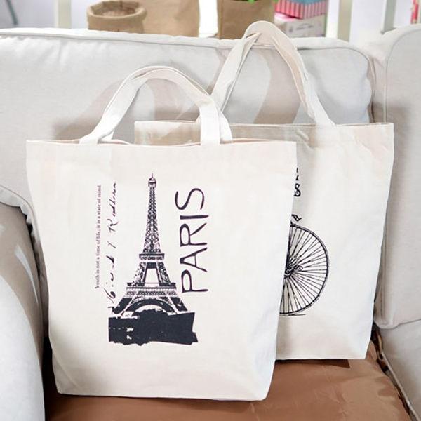 帆布袋女包休閒單肩包布袋包文藝複古小清新手提布包購物袋大包