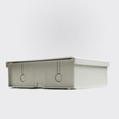 防水盒安防防水盒監控專用防雨盒監控專用室外防水盒超大塑膠防水箱 喵小姐