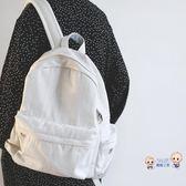 後背包 貓西女款雙肩包 書包休閒旅行背包 牛仔包日系後背包學生電腦包新T 1色