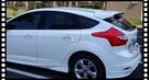 【車王小舖】福特 Ford Focus 2012-2016 素材 尾翼 壓尾翼 定風翼 導流板 五門