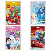 多美小汽車.CARS.冰雪奇緣.迪士尼公主隨身袋13片造型拼圖/益智玩具/兒童學習~EMMA商城