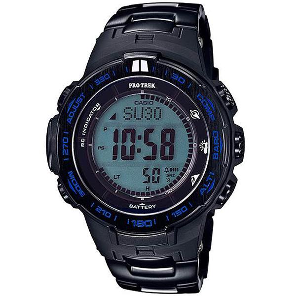 CASIO卡西歐PRO TREK Blue Moment登山腕錶     PRW-3100YT-1