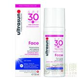【ultrasun優佳】優佳護顏修護防曬乳SPF30 PA+++(50ml/罐)x1罐