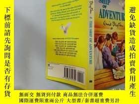 二手書博民逛書店The罕見ship of adventure:冒險之船.Y200392