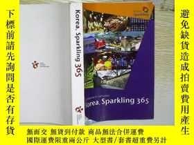 二手書博民逛書店Korea,Sparkling罕見365 (英文原版)(02)Y