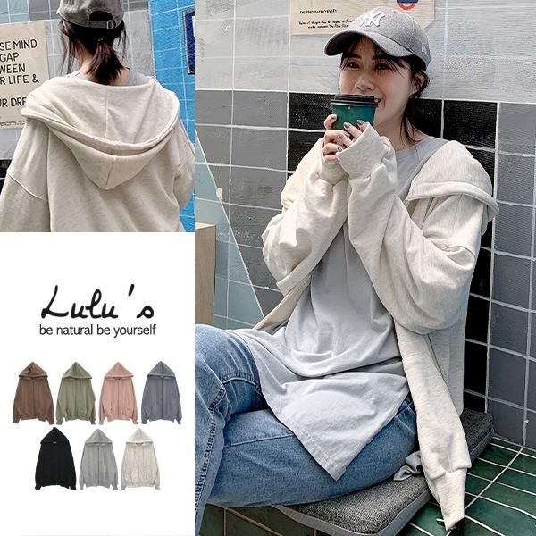 特價【A03200125】K自訂款雙口袋連帽寬鬆外套7色