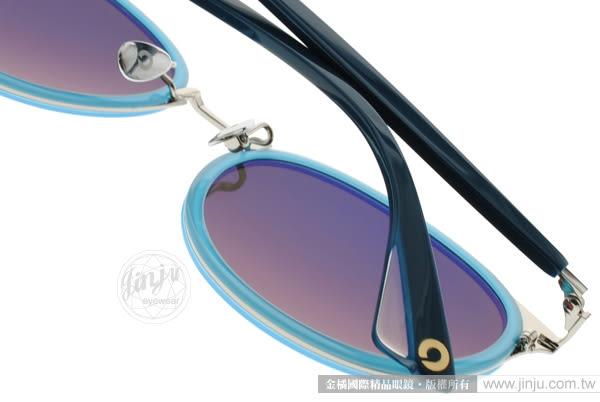 NINE ACCORD 太陽眼鏡 KISSING KARA C03 (水藍銀-粉藍水銀) 復古韓系圓框款 # 金橘眼鏡