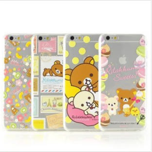 【DD現貨】iPhone 6s Rilakkuma 拉拉熊 懶懶熊 iPhone 6s Plus 可愛透明彩繪TPU手機殼
