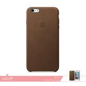APPLE蘋果 原廠iPhone 6 Plus/ 6S Plus專用皮革護套-棕色 /手機保護殼 /防護背蓋 /防震硬殼保護套