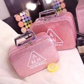 化妝包女便攜大容量超火小號收納包可愛化妝品收納盒箱手提 青山市集