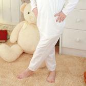 【Anny pepe】女童長褲基本款素面白